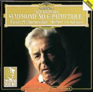 Sinfonia n.6 - CD Audio di Pyotr Il'yich Tchaikovsky,Herbert Von Karajan,Wiener Philharmoniker
