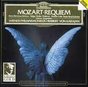 CD Requiem K626 Wolfgang Amadeus Mozart Herbert Von Karajan Wiener Philharmoniker