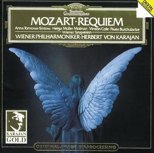 Requiem K626 - CD Audio di Wolfgang Amadeus Mozart,Herbert Von Karajan,Wiener Philharmoniker,Anna Tomowa-Sintow,Paata Burchuladze,Vinson Cole,Helga Müller-Molinari