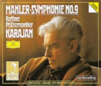 Sinfonia n.9 - CD Audio di Gustav Mahler,Herbert Von Karajan,Berliner Philharmoniker