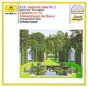 Trascrizioni per pianoforte da Bach,Händel,Gluck - CD Audio di Johann Sebastian Bach,Christoph Willibald Gluck,Georg Friedrich Händel,Wilhelm Kempff