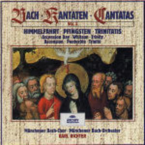 CD Cantate vol.3 di Johann Sebastian Bach