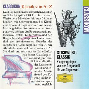Foto Cover di Classikon - the Sampler, CD di  prodotto da Deutsche Grammophon