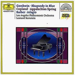 CD Rapsodia in blu / Appalachian Spring / Adagio per archi George Gershwin , Aaron Copland , Samuel Barber