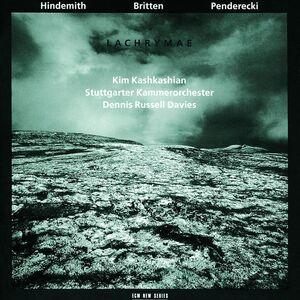 CD Lachrymae Benjamin Britten , Paul Hindemith , Krzysztof Penderecki