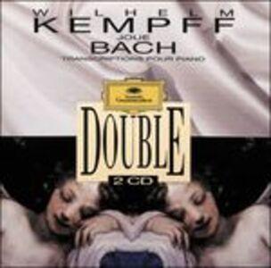 Foto Cover di Trascrizioni per pianoforte, CD di Johann Sebastian Bach,Wilhelm Kempff, prodotto da Dgg