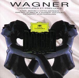 Foto Cover di Ouvertures e Preludi, CD di Richard Wagner, prodotto da Deutsche Grammophon