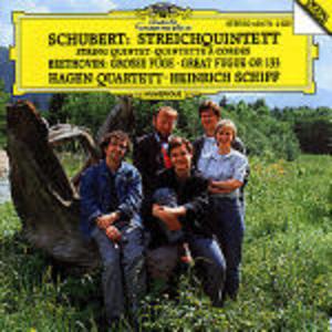 CD Quintetto con pianoforte D956 / Grande Fuga Ludwig van Beethoven , Franz Schubert