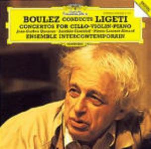 CD Boulez dirige Ligeti di György Ligeti