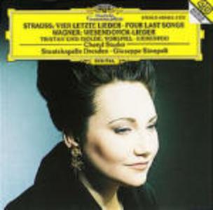 CD Vier Letzte Lieder / Wesendonck-Lieder Richard Strauss , Richard Wagner