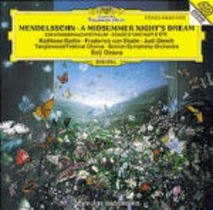 CD Sogno di una notte di mezza estate (A Midsummer Night's Dream) di Felix Mendelssohn-Bartholdy