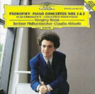 CD Concerti per pianoforte n.1, n.3 di Sergei Sergeevic Prokofiev