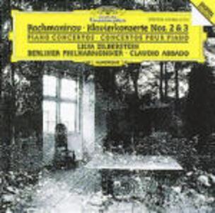 Concerti per pianoforte n.2, n.3 - CD Audio di Sergej Vasilevich Rachmaninov,Claudio Abbado,Berliner Philharmoniker,Lilya Zilberstein