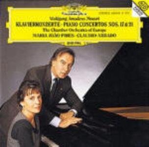 CD Concerti per pianoforte n.17, n.21 di Wolfgang Amadeus Mozart