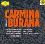CD Carmina Burana Carl Orff André Previn Wiener Philharmoniker