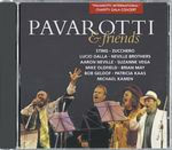 CD Pavarotti & Friends