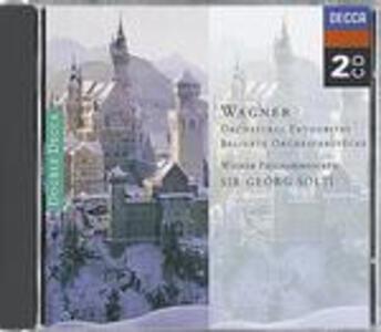 Pezzi celebri orchestrali - CD Audio di Richard Wagner,Georg Solti,Wiener Philharmoniker