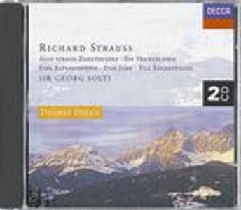 CD Così parlò Zarathustra (Also Sprach Zarathustra) - Vita d'eroe (Ein Heldenleben) - Till Eulenspiegel - Sinfonia delle Alpi di Richard Strauss