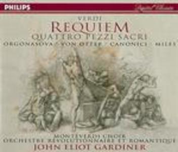 CD Messa da Requiem - Quattro pezzi sacri di Giuseppe Verdi