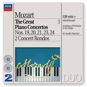 CD Concerti per pianoforte vol.1: n.19, n.20, n.21, n.23, n.24 - 2 Concerti Rondò di Wolfgang Amadeus Mozart