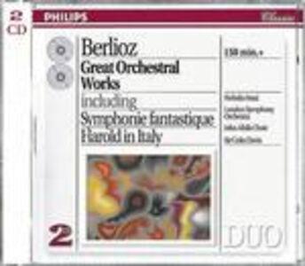 CD Sinfonia fantastica (Symphonie fantastique) - Sinfonia funebre e trionfale - Aroldo in Italia - Il corsaro di Hector Berlioz