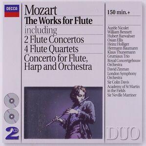 CD Opere per flauto di Wolfgang Amadeus Mozart