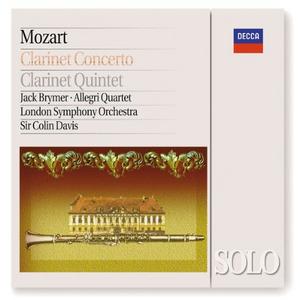 CD Concerto per clarinetto - Quintetto con clarinetto di Wolfgang Amadeus Mozart