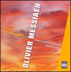 CD Eclairs Sur L'au - Dela di Olivier Messiaen