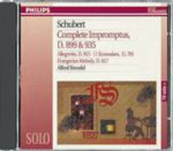 Foto Cover di Impromptus completi, CD di Franz Schubert,Alfred Brendel, prodotto da Philips