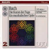 CD L'arte della fuga (Die Kunst der Fugue) - L'offerta musicale (Die Musikalisches Opfer) Johann Sebastian Bach Sir Neville Marriner Academy of St. Martin in the Fields