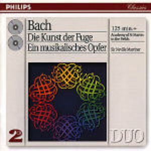 CD L'arte della fuga (Die Kunst der Fugue) - L'offerta musicale (Die Musikalisches Opfer) di Johann Sebastian Bach