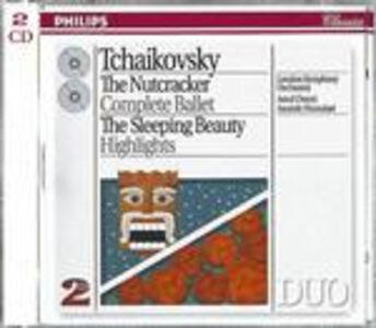 CD Lo schiaccianoci - La bella addormentata (Suite) di Pyotr Il'yich Tchaikovsky