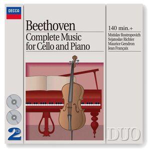 CD Opera completa per pianoforte e violoncello di Ludwig van Beethoven