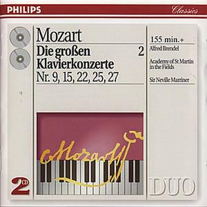 CD Concerti per pianoforte vol.2: n.9, n.15, n.22, n.25, n.27 di Wolfgang Amadeus Mozart
