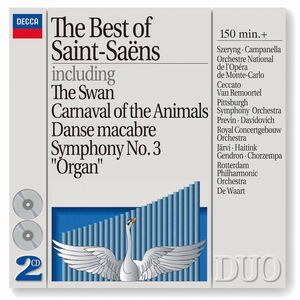 CD The Best of Saint-Saëns di Camille Saint-Saëns