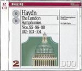 CD Sinfonie londinesi vol.1: n.95, n.96, n.98, n.102, n.103, n.104 di Franz Joseph Haydn