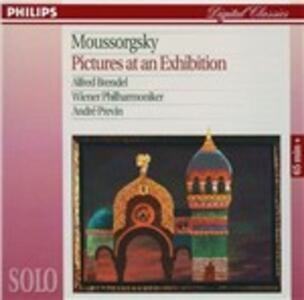 Quadri di un'esposizione (Pictures at an Exhibition) - CD Audio di Modest Petrovich Mussorgsky,André Previn,Alfred Brendel,Wiener Philharmoniker