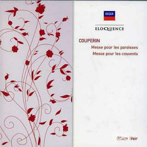 CD Organ Masses di François Couperin