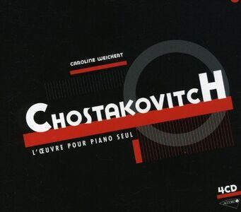 CD Musica per pianoforte solo di Dmitri Shostakovich
