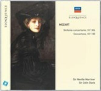 Sinfonia concertante K364 - Concertone K190 - CD Audio di Wolfgang Amadeus Mozart,Sir Colin Davis,Neville Marriner