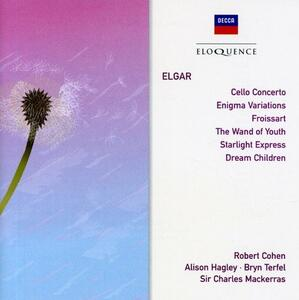 Elgar. Cello Concerto; Eni - CD Audio di Edward Elgar