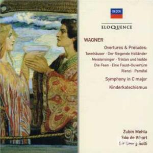 Overtures & Preludi - CD Audio di Richard Wagner