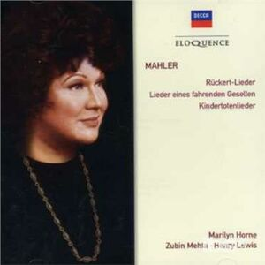 CD Song Cycles di Gustav Mahler