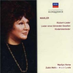 CD Song Cycles di Gustav Mahler