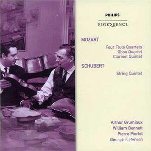 CD Mozart. Flute Quartets - ob di Wolfgang Amadeus Mozart
