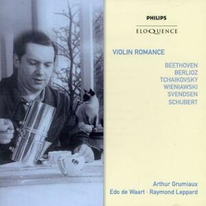 Violin Romance. Beethoven - CD Audio di Arthur Grumiaux