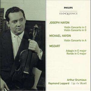 CD Haydn. Violin Concertos 1 di Franz Joseph Haydn