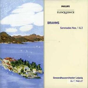Serenades Nos 1 & 2 - CD Audio di Johannes Brahms