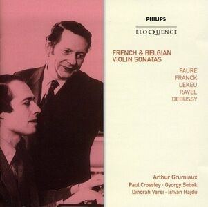 CD French & Belgian Violin S