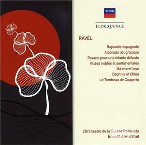 Musica Orchestrale - CD Audio di Maurice Ravel,Ernest Ansermet